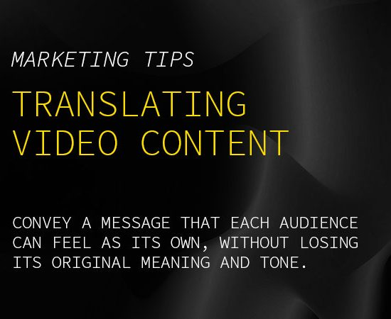 Video Translation Tips Blog