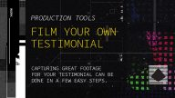 Film your testimonial video following these easy steps